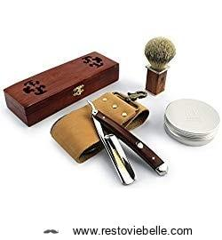 Best Straight Razor Kit- A-P Donovan Straight Razor kit