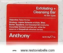 Anthony Exfoliating Cleansing Bar Soap
