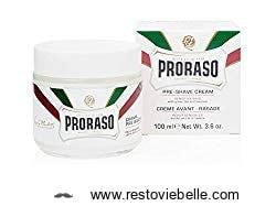 Proraso Pre-Shave Cream for Sensitive Skin