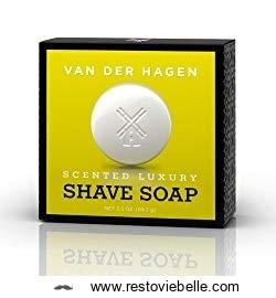 Van Der Hagen Men's Luxury Scented Soap