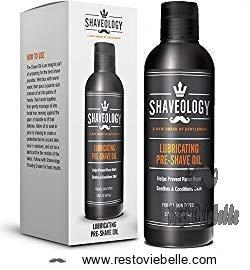 Shaveology Pre Shave Oil for Men