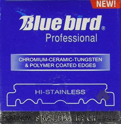 BLUEBIRD Single Edge Razor Blades