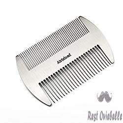 Airisland Dual Action Stainless Steel Beard Mustache Comb
