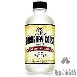 Bay Rum Aftershave from Barberry Coast Shave