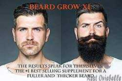 Beard Grow XL Facial Hair Supplement 1