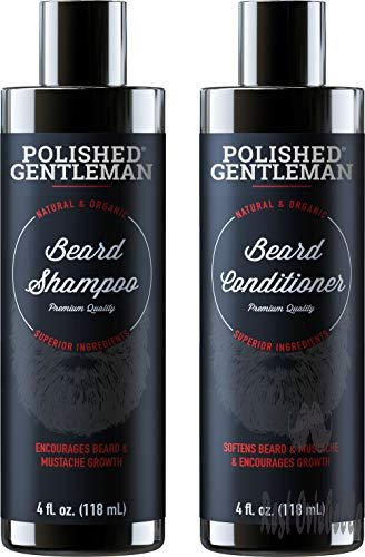 Beard Growth Shampoo and Conditioner