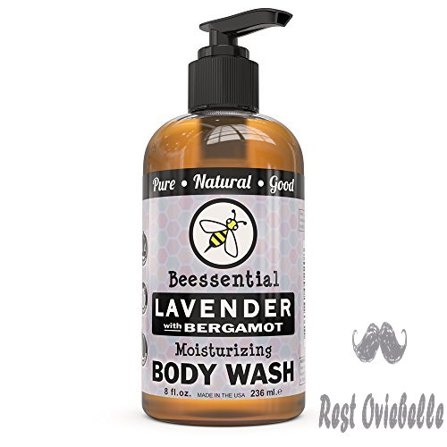Beessential Natural Body Wash, Lavender,