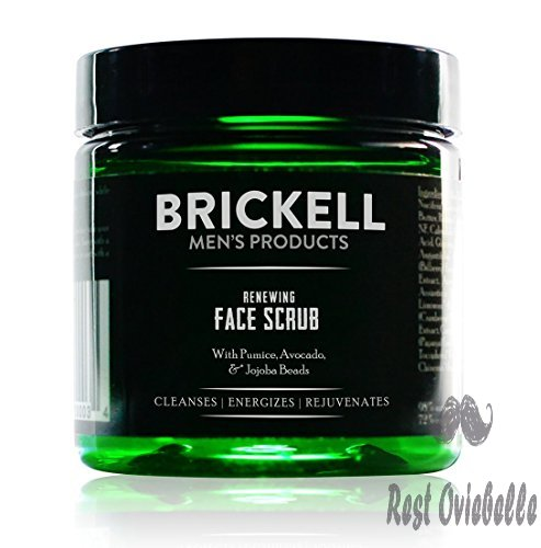 Brickell Men's Renewing Face Scrub