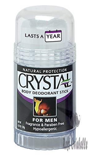 Crystal Mineral Deodorant Stick for