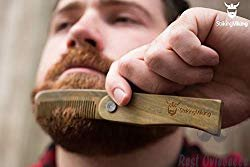 Folding Wood Comb By Striking Viking 1