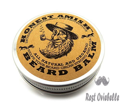 Honest Amish Beard Balm Leave-in
