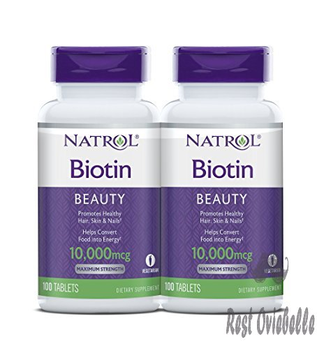 Natrol Biotin Beauty Tablets, Promotes