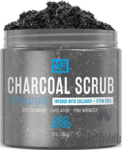M3 Naturals Activated Charcoal Scrub