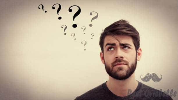man full of doubts - beard men ask s and pictures Buy A Beard Kit Versus Buy Specific Products
