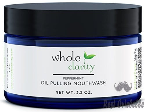 Oil Pulling Teeth Whitening Mouthwash