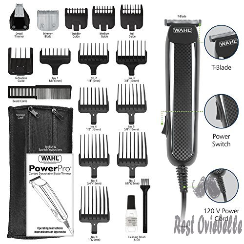 Wahl Clipper PowerPro Corded Trimmer 1