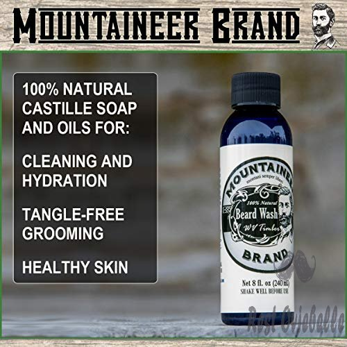 Mountaineer Brand All Natural Beard Wash 1