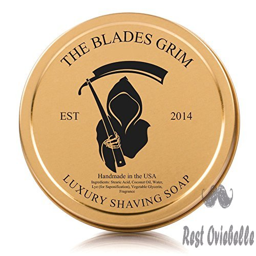 The Blades Grim Gold Luxury Shaving Soap