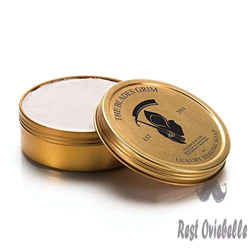 The Blades Grim Gold Luxury Shaving Soap 1