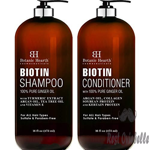 BOTANIC HEARTH Biotin Shampoo and Conditioner Set