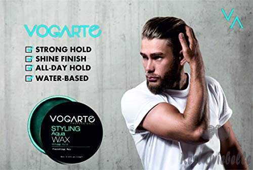Vogarte Hair Styling Aqua Wax for Men 1
