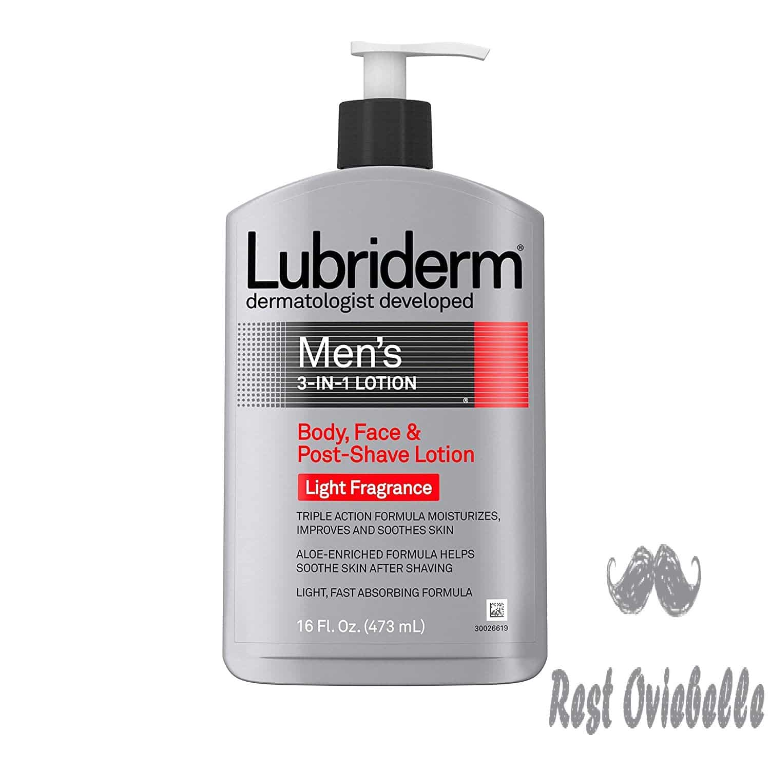 Lubriderm Men's 3-In-1 Lotion Enriched