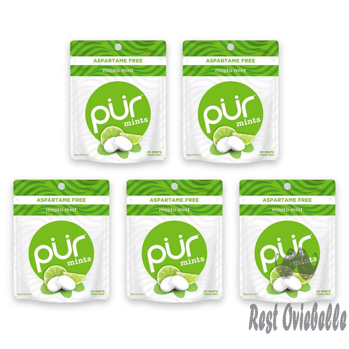 PUR 100% Xylitol Breath Mints,