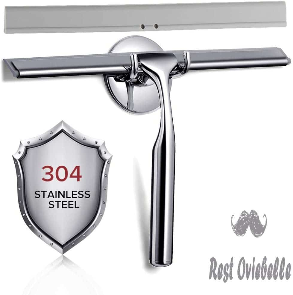 Quntis Stainless Steel All-Purpose Deluxe Squeegee
