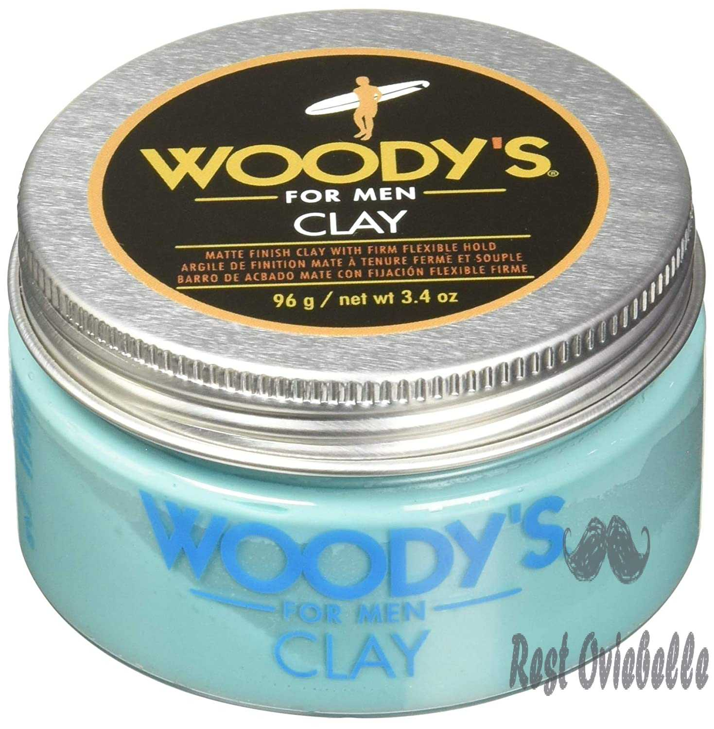 Woody's Matte Finish Clay for
