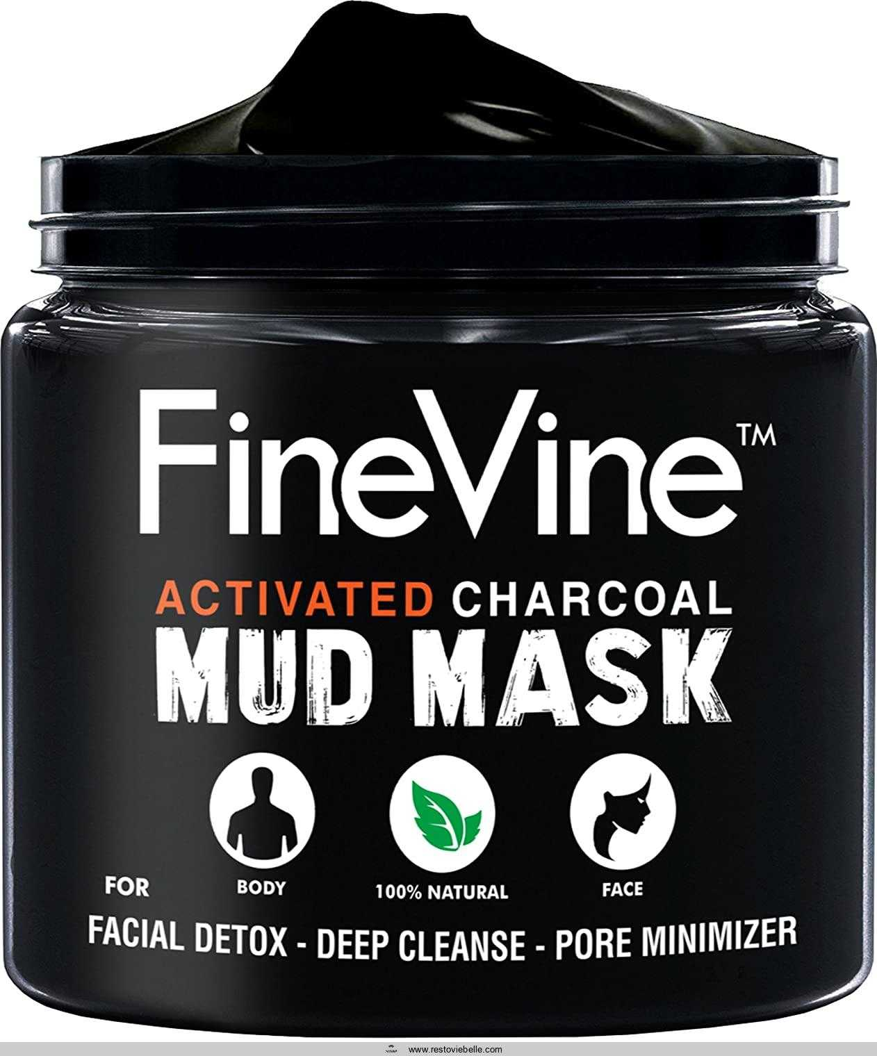 Activated Charcoal Mud Mask -