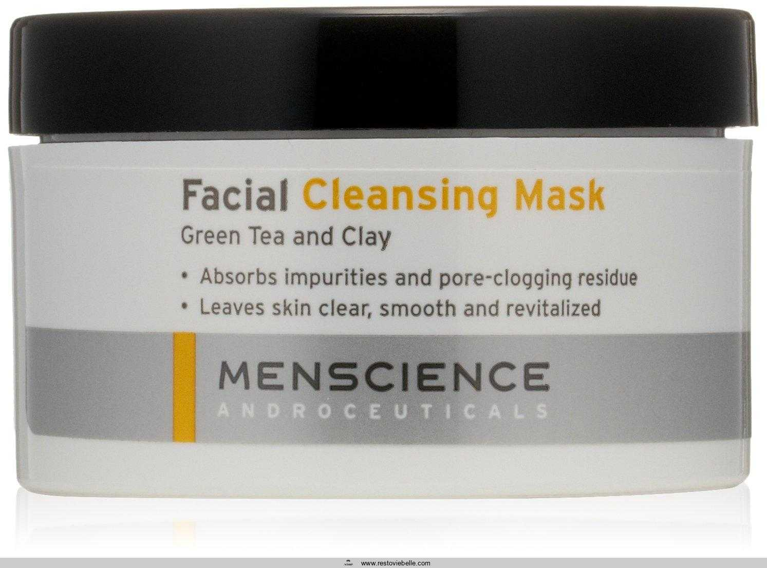 MenScience Androceuticals Facial Cleansing Mask,