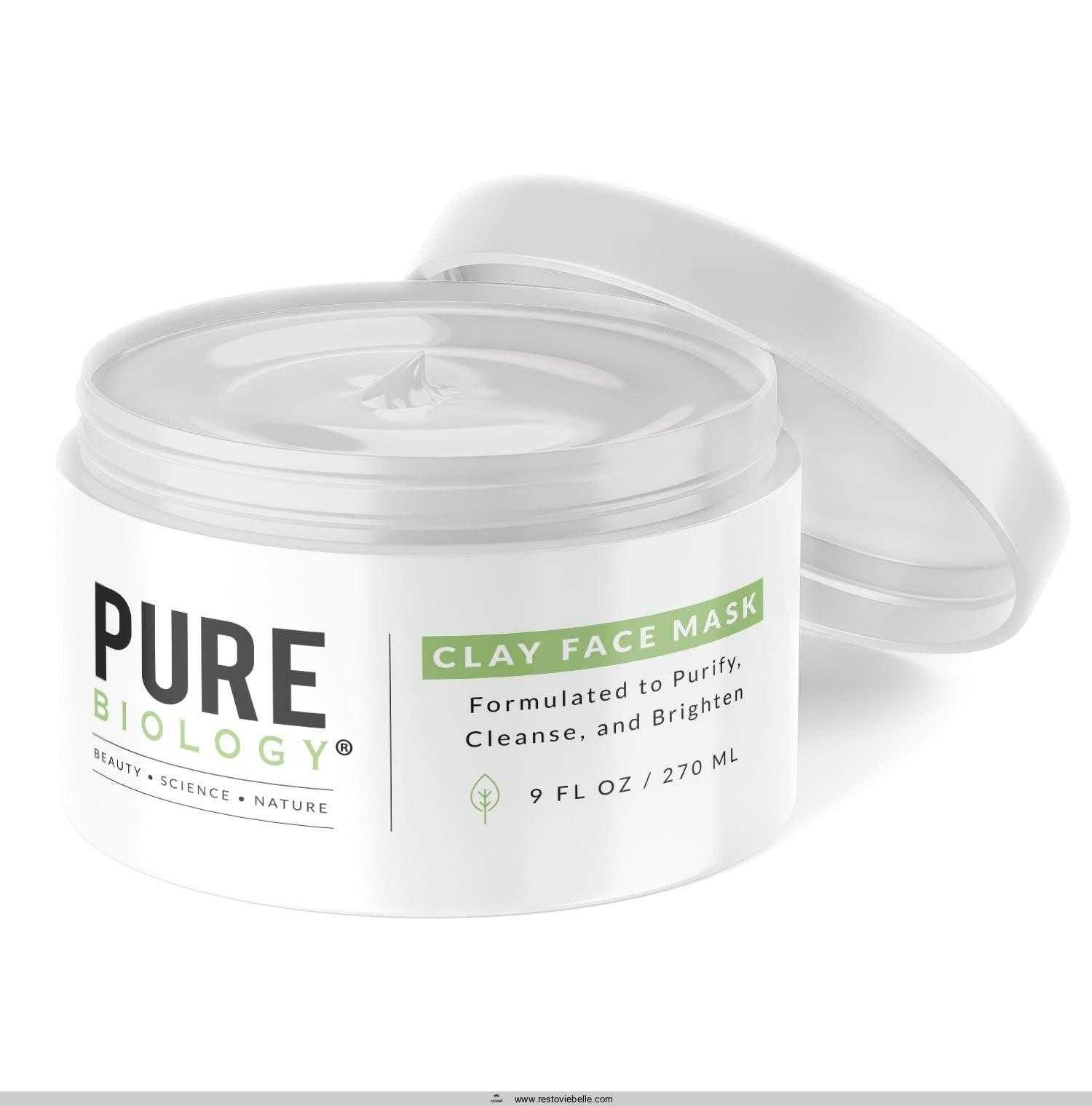 Premium Bentonite Clay Mask –
