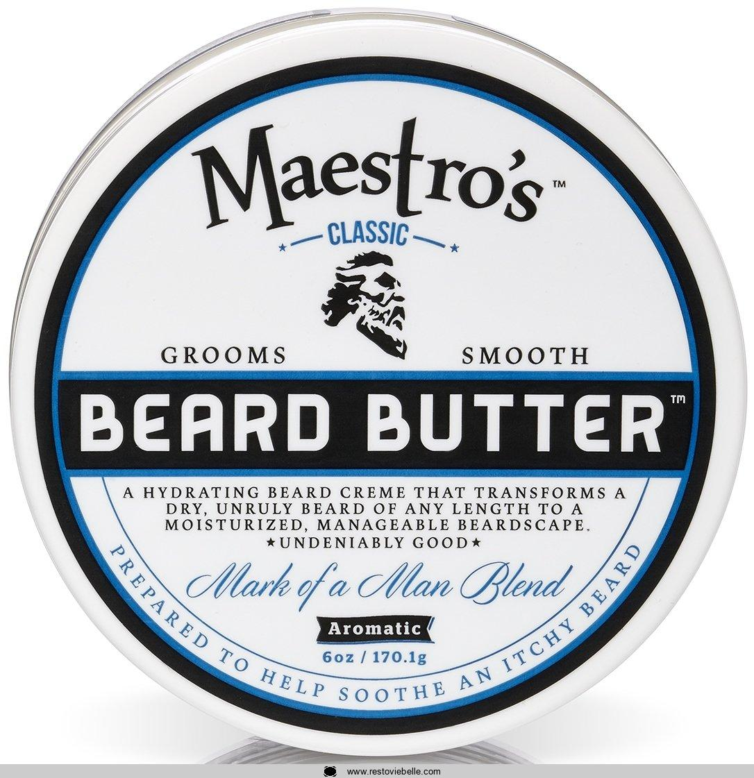 Maestro's Classic Mark of a Man Beard Butter