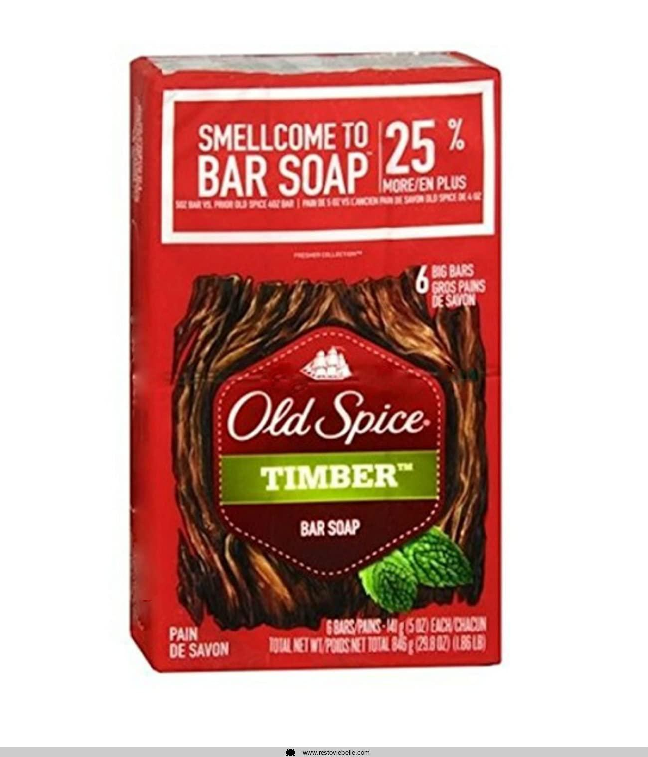 Old Spice Timber Bar Soap