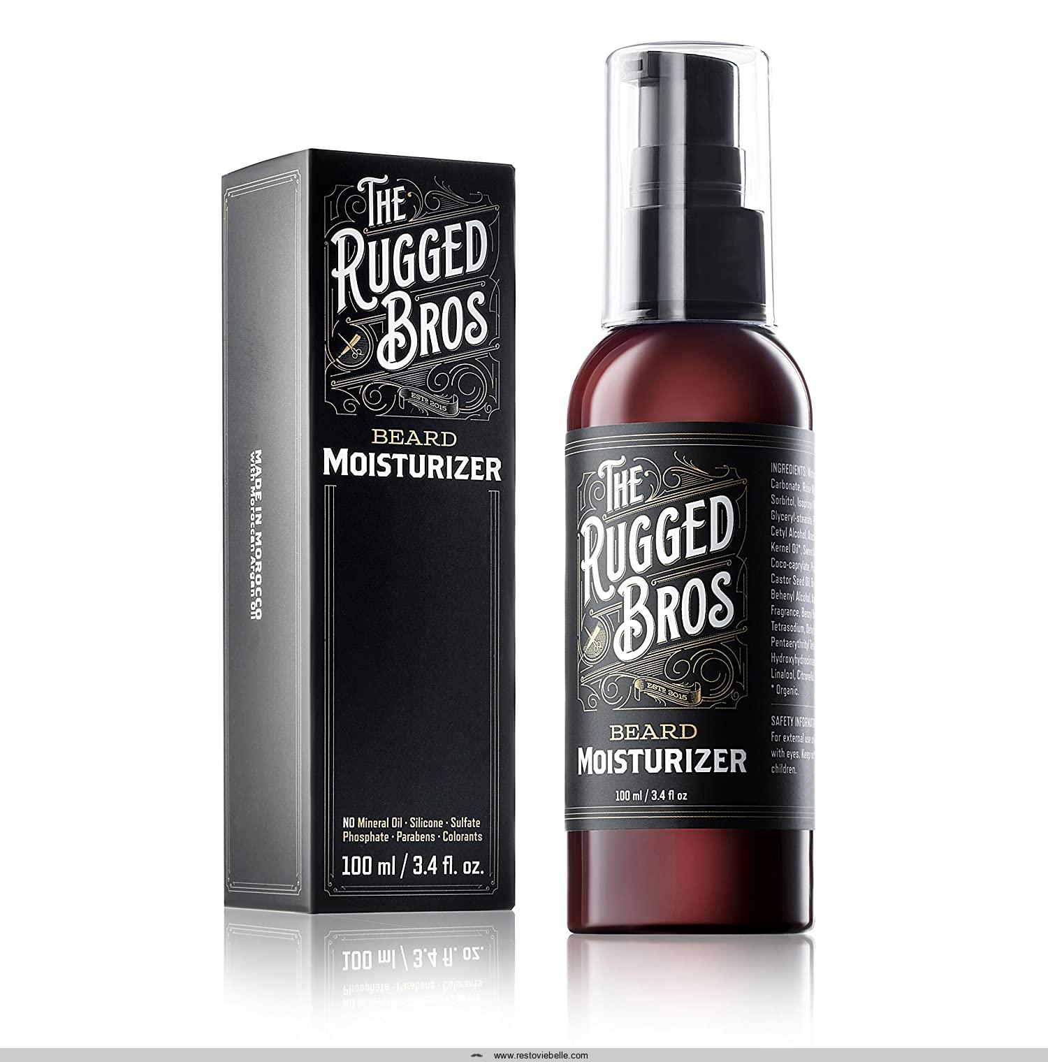Beard Moisturizer for Men by The Rugged Bros