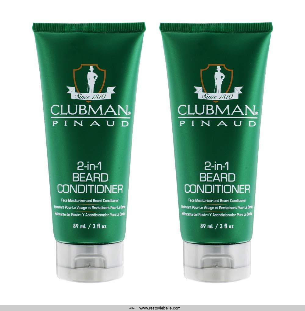 Clubman Pinaud 2-in-1 Beard Conditioner and Face Moisturizer