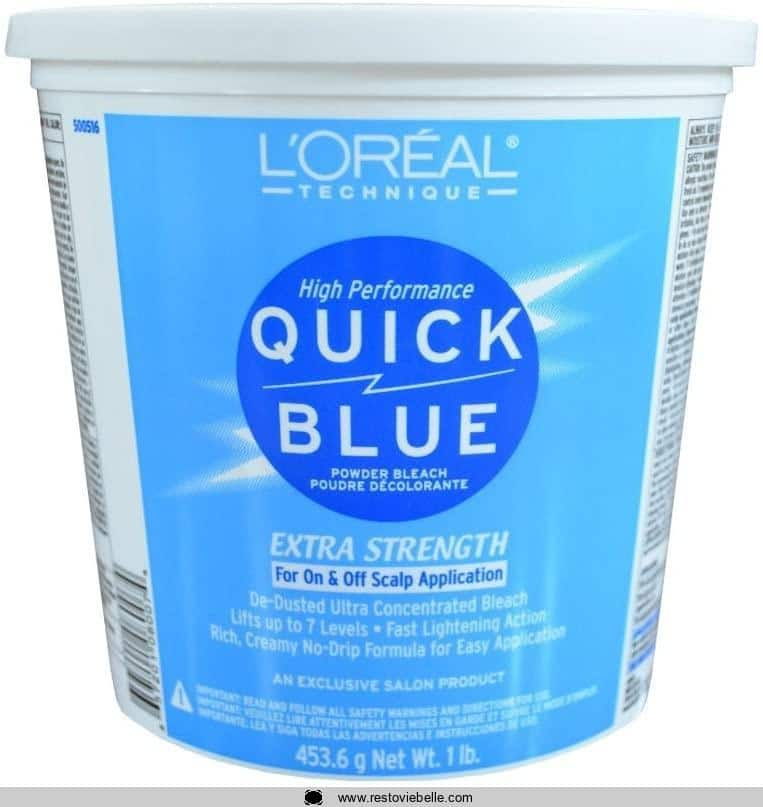 L'Oreal Quick Blue Powder Bleach,