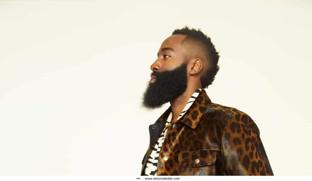 James Harden Beard for GQ