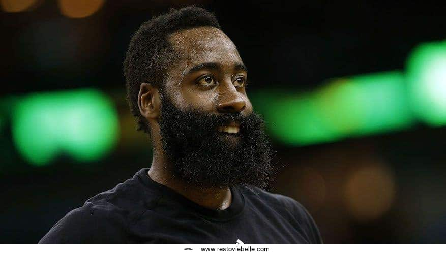 James Harden Bushy Beard