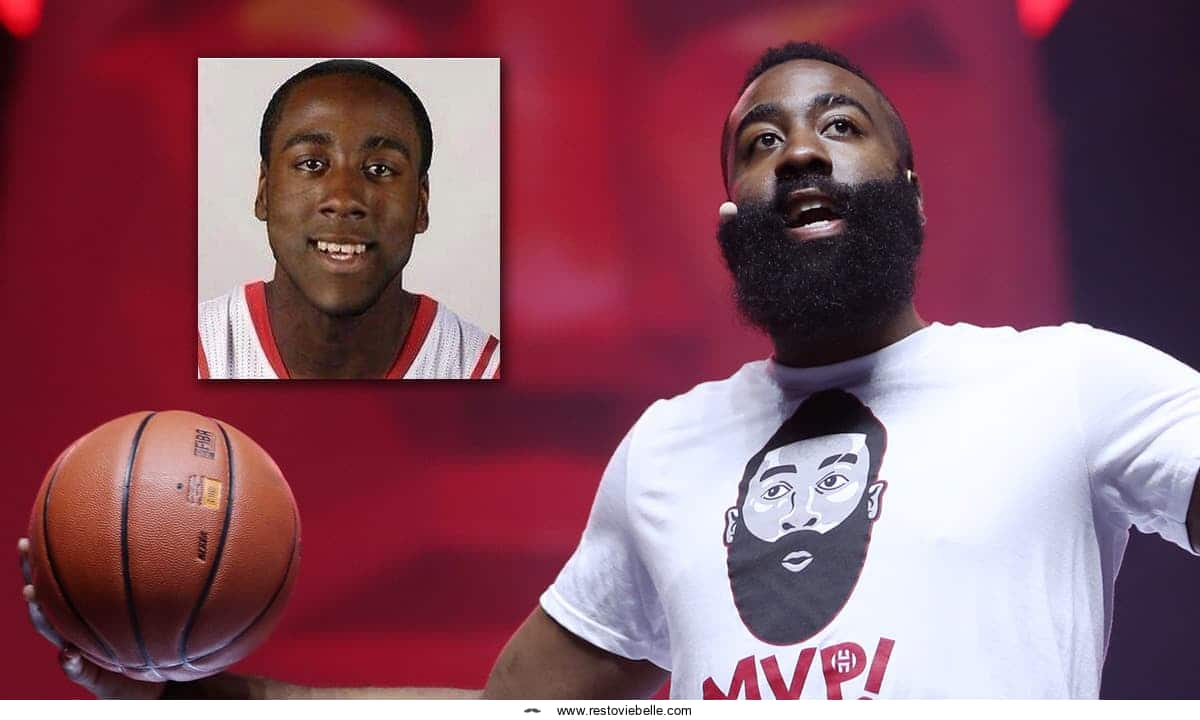 james harden no beard